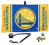 WinCraft Golden State Warriors NBA Waffle Towel Golf Gift Set Pro Team Pack
