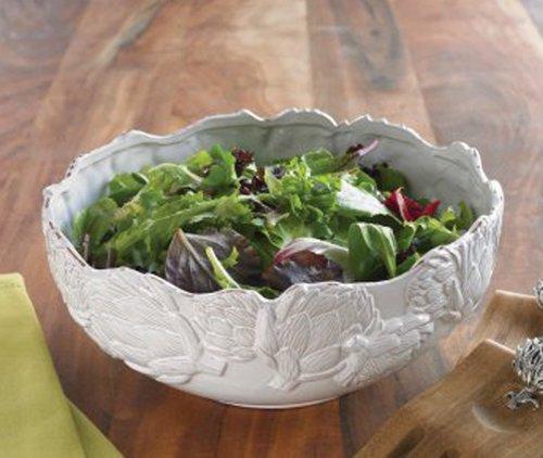 Artichoke Salad Bowl Milk Glazed By Mud Pie