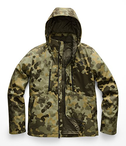 North Green Face (The North Face Men's Apex Elevation Jacket - New Taupe Green Macrofleck Camo Print - XL)