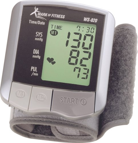 Mark of Fitness WS-820 Automatic Wrist Blood Pressure Monitor by Mark of Fitness