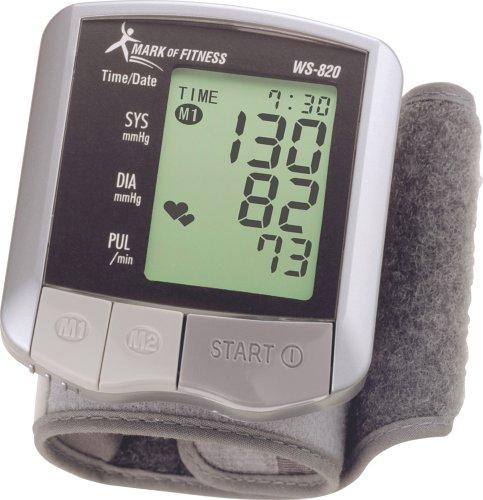 Mark of Fitness WS-820 Moniteur automatique Tensiomètre au poignet