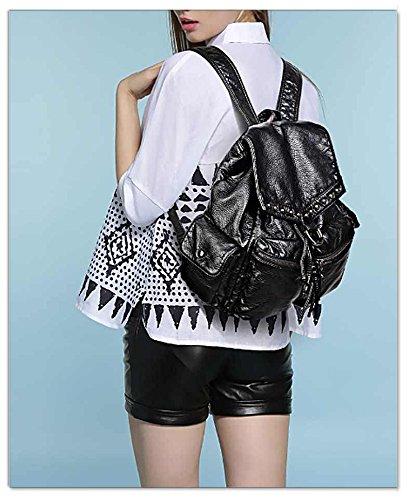 1 Bolso 18000487 black mujer 487 UTO Negro Large al hombro para Negro BxOavCw4q