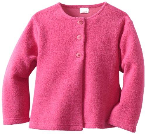 Zutano Baby Girls' Cozie Swing Jacket, Fuchsia, 24 Months