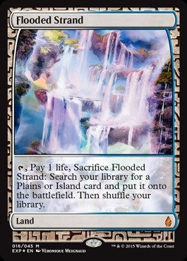 Magic: the Gathering - Flooded Strand - Expedition Lands - Foil
