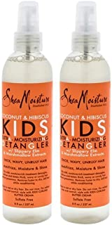 product image for SHEA MOISTURE Coconut & Hibiscus Kids Extra-moisturizing Detangler Pack Of 2, 8 Oz (K0000002)