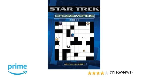 Star Trek Crosswords Book 1: John M. Samson: 9780743463119: Amazon ...