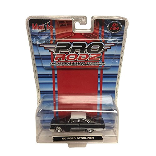 Maisto Pro Rodz Pro-Touring Diecast Collection 1960 Ford Strrliner 1:64 Scale Car