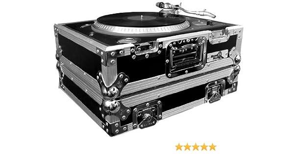 NSP Cases 1200b DJ Tocadiscos Flight Case: Amazon.es: Ropa y ...