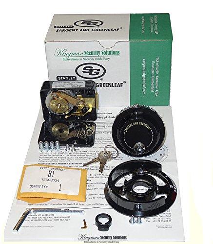 Sargent & Greenleaf 6730-112 Lock D225 Dial R167 Ring