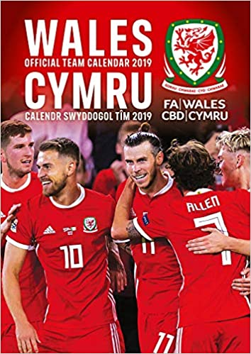 online retailer af016 f4b55 Buy Wales National Football Official 2019 Calendar - A3 Wall ...