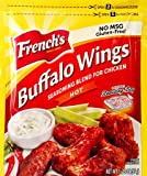 French's Buffalo Wings,Hot (Pack of 24)