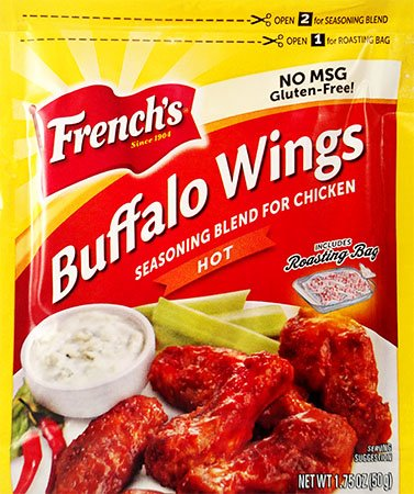 French's Buffalo Wings,Hot (Pack of 24) by B&G FOODS,INC