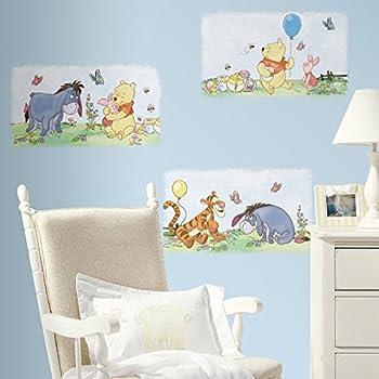 Roommates Rmk1637Scs Winnie The Pooh Poster Peel U0026 Stick Wall Decals Part 70