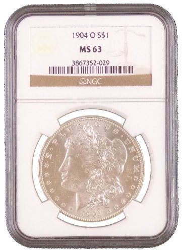 1904 O Morgan Dollar NGC MS-63