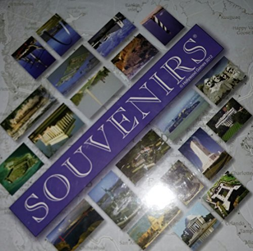 Souvenirs Trivia Board Game, USA Famous and Historical Sites by Hollywood Games