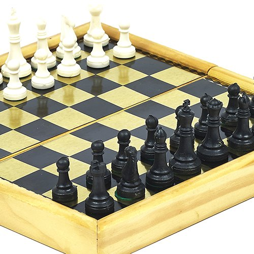 Battery Place Folding Travel Size Magnetic Chess Set Bello Games New York Inc.