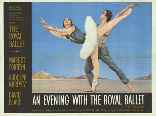 "Evening with the Royal Ballet - Authentic Original 40"" x 30"" Folded Movie Poster by MovieposterDotCom"
