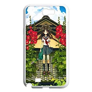 Samsung Galaxy N2 7100 Cell Phone Case White flower on roof illust O0I0ZB