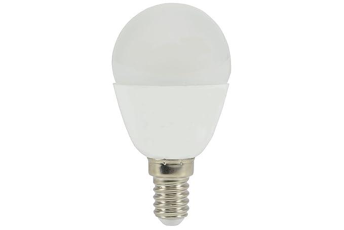Bombilla LED de 4W G45con forma de pelota de golf y rosca