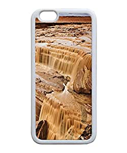 VUTTOO Iphone 6 Case, Canyon Rock River TPU Rubber Case for Apple iPhone 6 4.7 Inch White Bumper