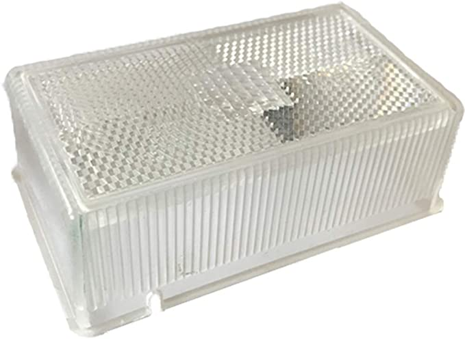 RUBBOLITE WHITE CLEAR FRONT MARKER LIGHTS LAMPS IFOR WILLIAMS TRAILER HORSE BOX