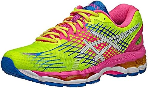 Asics Gel-Nimbus 17, T557N 0701, Womens Running Shoes, Flash Yellow/White/Flash, UK 5 /EU 38: Amazon.es: Zapatos y complementos