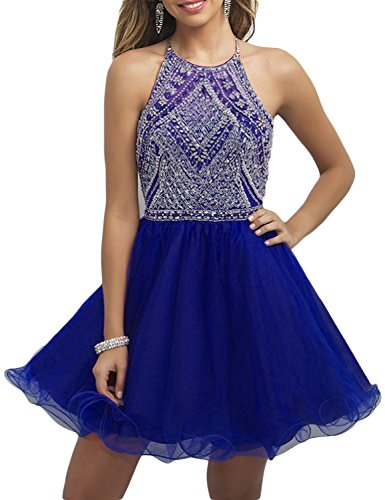 Buy hand beaded prom dress - 5