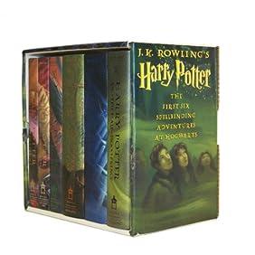 Harry Potter Hardcover Box Set (Books 1-6)