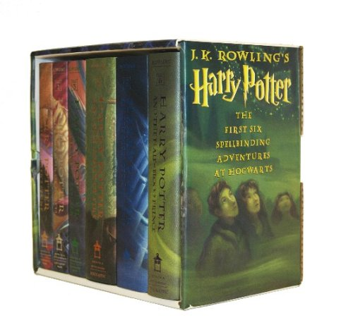 Harry Potter Hardcover Box Set (Books 1-6) by Arthur A. Levine Books