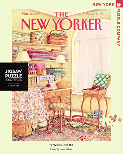 New York Puzzle Company - New Yorker Sewing Room - 1000 Piece Jigsaw Puzzle