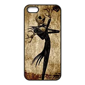 Treasure Design Funny Picture Of Nightmare Before Christmas Jack Skellington Head APPLE IPHONE 5 Best Rubber Cover Case by Maris's Diary