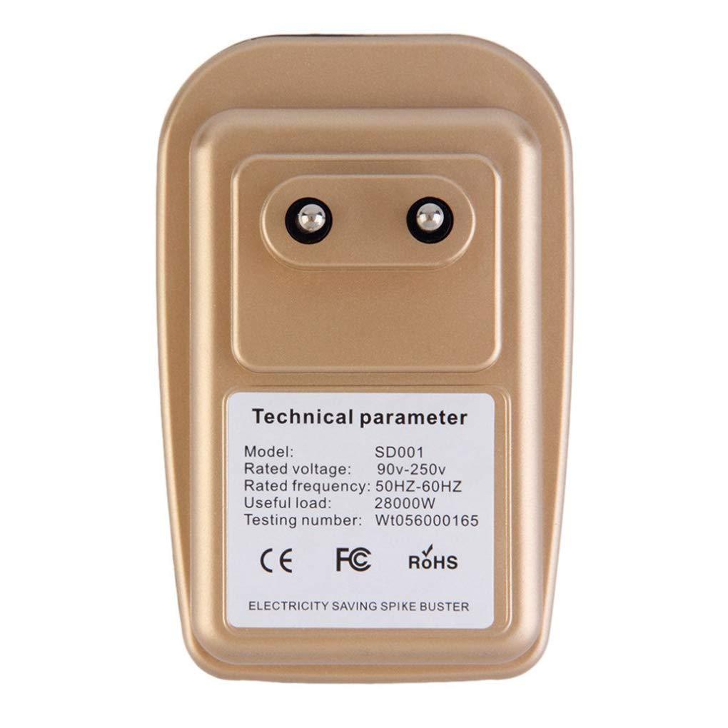 Aiming Dispositivo 28kW Electricidad Caja de Ahorro de 90V-250V Energ/ía El/éctrica Ahorro de energ/ía Ahorro de Factor de Potencia