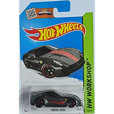 2015 Hot Wheels Hw Workshop: Ferrari 599XX: Toys & Games