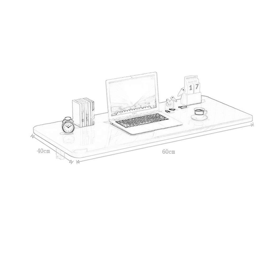 Fällbart bord väggfällbart bord hem väggfällbart bord kök fällbord enkel vägg matbord multifunktions-datorbord/kan användas som matbord/skrivbord/blomställ BLÅ