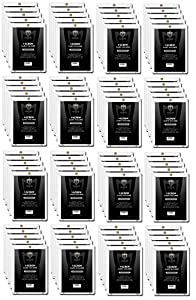 (80) Max Pro 1 Screw Card SUPER THICK Holder - 120 Pt. Jersey or Memorabilia Card Screwdown - Baseball, Football, Basketball, Hockey, Golf, Single Sports Cards Sportcards Card Collecting Supplies