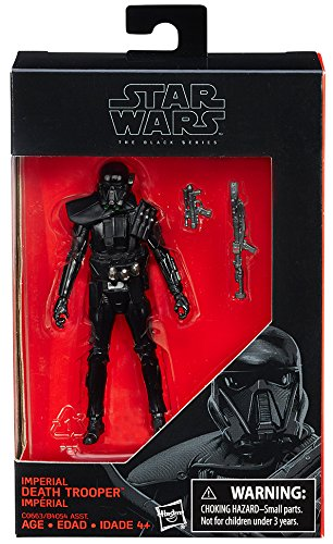 Star Wars  Rogue One  The Black Series Imperial Death Trooper Exclusive Action Figure  3  75 Inches
