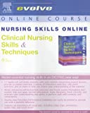 Nursing Skills Online for Clinical Nursing Skills and Techniques, Potter, Patricia A. and Perry, Anne Griffin, 0323031544
