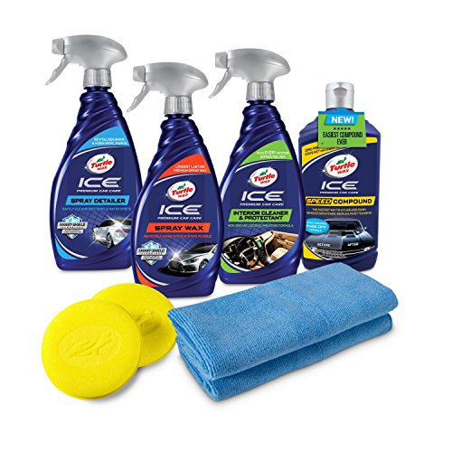 Turtle Wax 50733 Complete ICE Premium Car Care Kit, ()