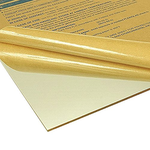 Online Plastic Supply Clear (0000) Acrylic Sheet, 0.100 (1/10 inch), 18 inches x 36 ()