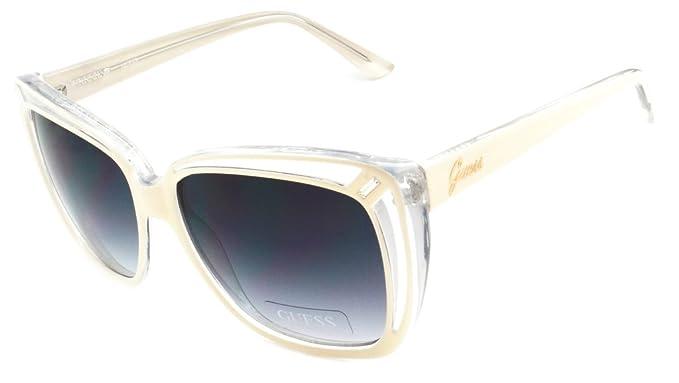 Guess Gafas de Sol Mujer GU 7218 IV-35 Beige Cerrado: Amazon ...