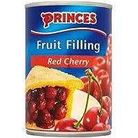 Princes relleno de fruta rojo cereza - 3 x 410gm