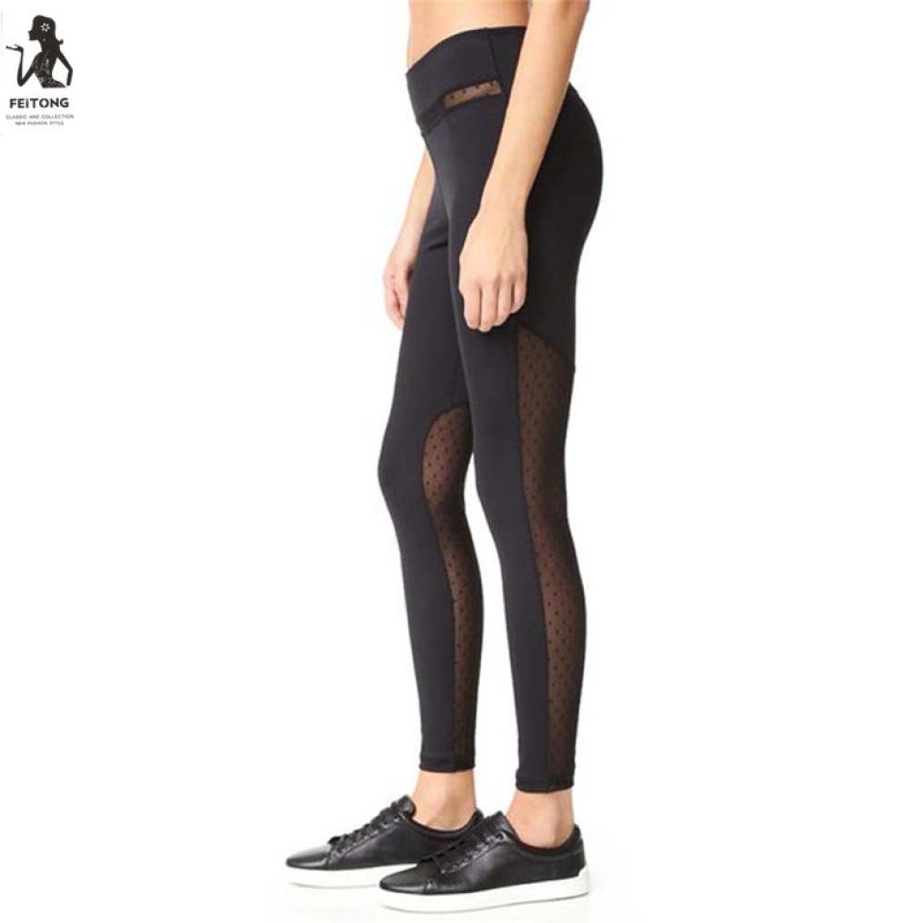 Pantaloni Yoga, Luoluoluo Women ' s Power Flex yoga pantaloni pancia controllo allenamento yoga Capris pantaloni leggings ,fitness pantaloni donna ,running donna abbigliamento