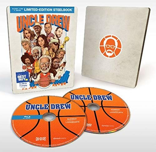 Uncle Drew (Steelbook) [Blu-ray + DVD + Digital HD]