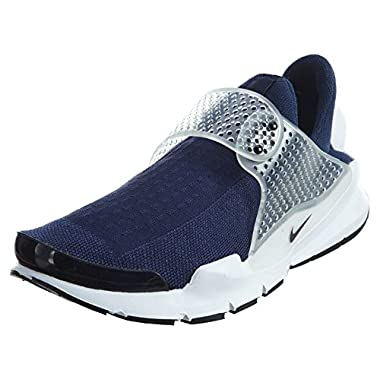 3a0a6aa1a91a Nike Men s Sock Dart Navy Black Midnight Grey White Running Shoe 11