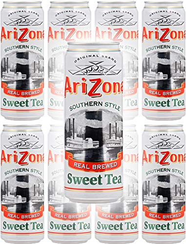 Arizona Tea Sweet Tea, 23 Fl Oz Tall Cans (Pack of 8, Total of 184 Oz) ()