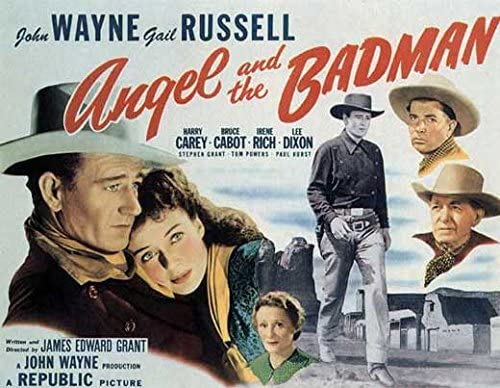 Amazon.com: Angel and the Badman POSTER Movie (22 x 28 Inches ...