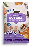 Rachael Ray Nutrish Longevity Natural Dry Cat Food, Chicken with Chickpeas & Salmon Recipe, 6 lbs
