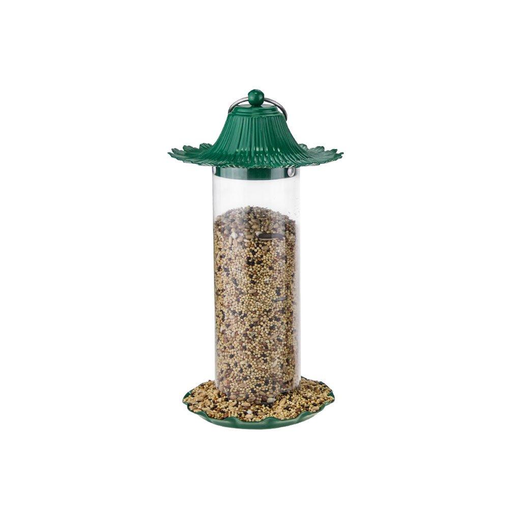 3 Bird Feeder Outdoor Garden Balcony Bird Feeding Bird cage Bird Food Feeding Device Bird Feeding Trough Material Metal (color    3)