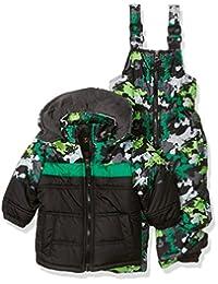 iXtreme Boys' Camo Print Snowsuit