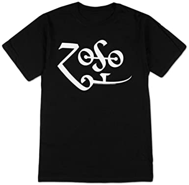 Ill Rock Merch - Camiseta - Hombre de color Negro de talla Large - Jimmy Page